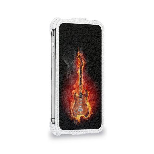 Чехол для Apple iPhone 4/4S flip  Фото 05, Адская гитара