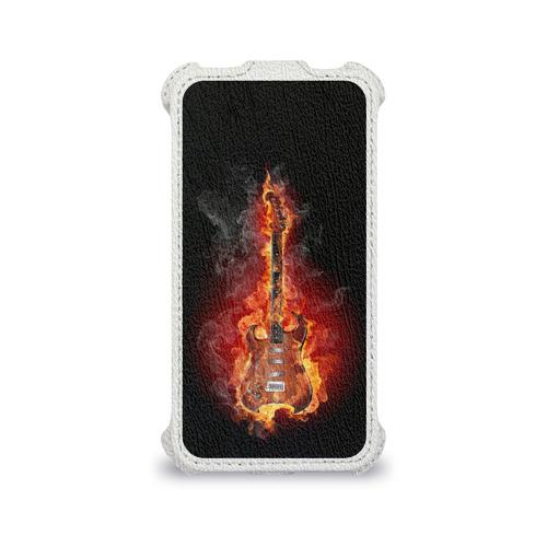 Чехол для Apple iPhone 4/4S flip  Фото 04, Адская гитара