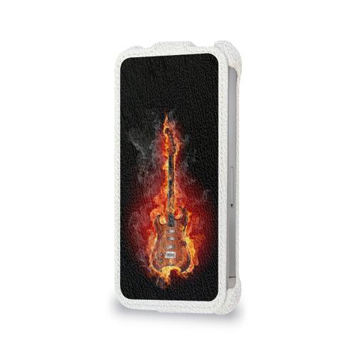 Чехол для Apple iPhone 4/4S flip  Фото 06, Адская гитара