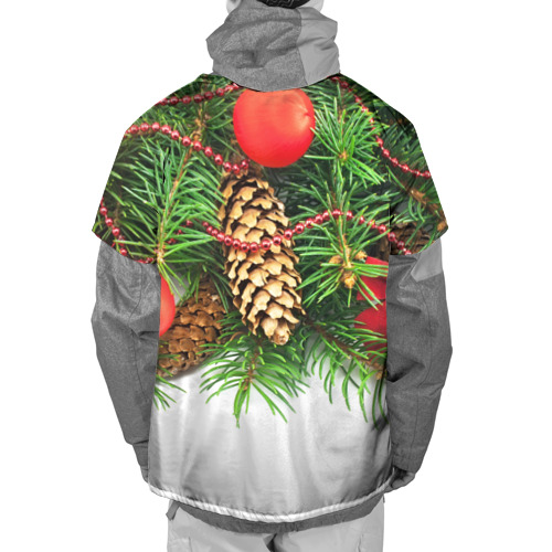 Накидка на куртку 3D  Фото 02, Дуx рождества