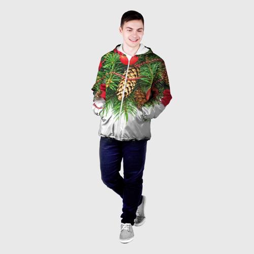 Мужская куртка 3D  Фото 03, Дуx рождества
