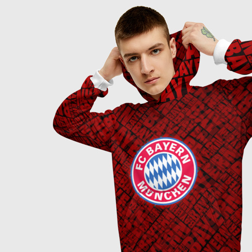 Мужская толстовка 3D  Фото 01, Bayern munich