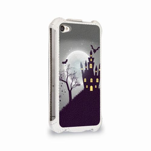 Чехол для Apple iPhone 4/4S flip  Фото 02, Дом с привидениями