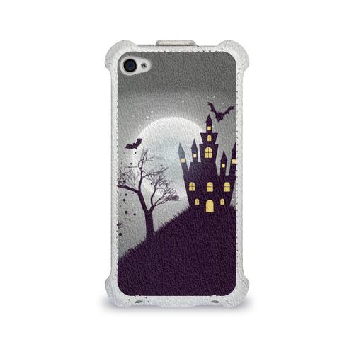 Чехол для Apple iPhone 4/4S flip  Фото 01, Дом с привидениями