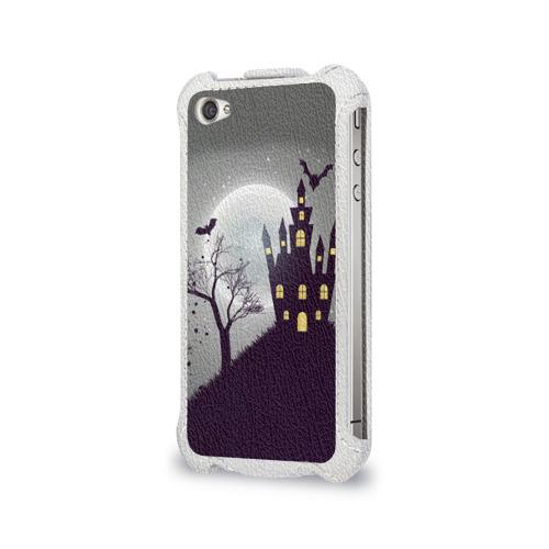 Чехол для Apple iPhone 4/4S flip  Фото 03, Дом с привидениями