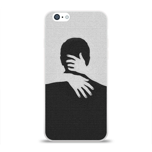 Чехол для Apple iPhone 6 силиконовый глянцевый  Фото 01, Объятия