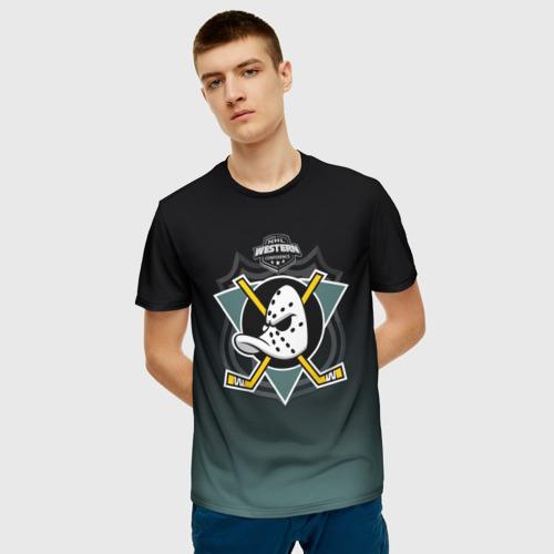 Мужская футболка 3D Anaheim Ducks 3D Team2 Фото 01