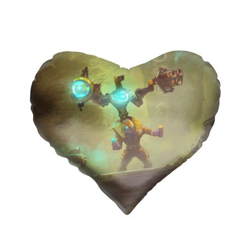 Подушка 3D сердце  Фото 01, Tinker