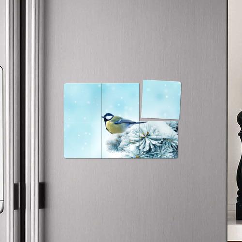 Магнитный плакат 3Х2  Фото 04, Зима