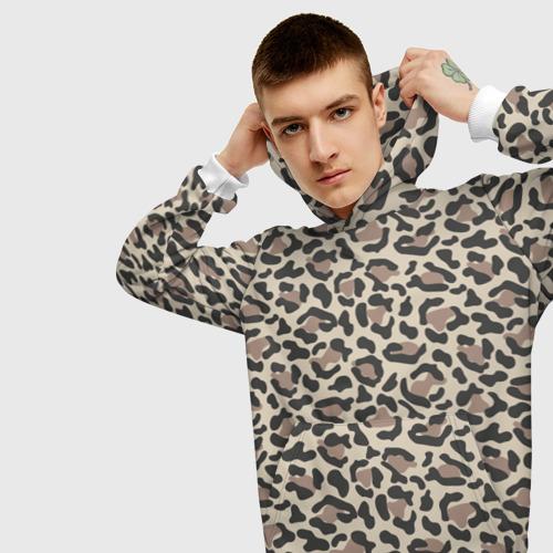 Мужская толстовка 3D Шкура леопарда 3 Фото 01