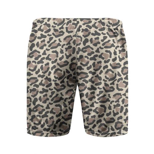 Мужские шорты 3D спортивные  Фото 02, Шкура леопарда 3