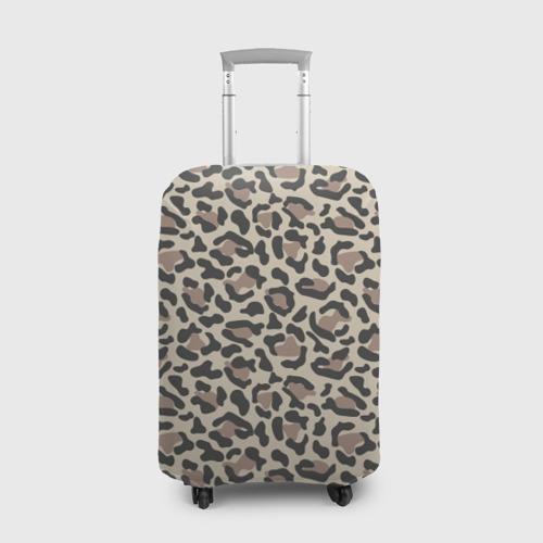 Чехол для чемодана 3D Шкура леопарда 3 Фото 01