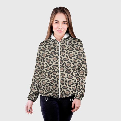 Женская куртка 3D Шкура леопарда 3 Фото 01