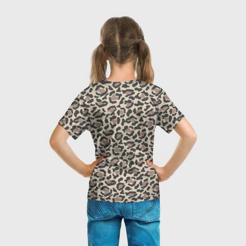 Детская футболка 3D Шкура леопарда 3 Фото 01