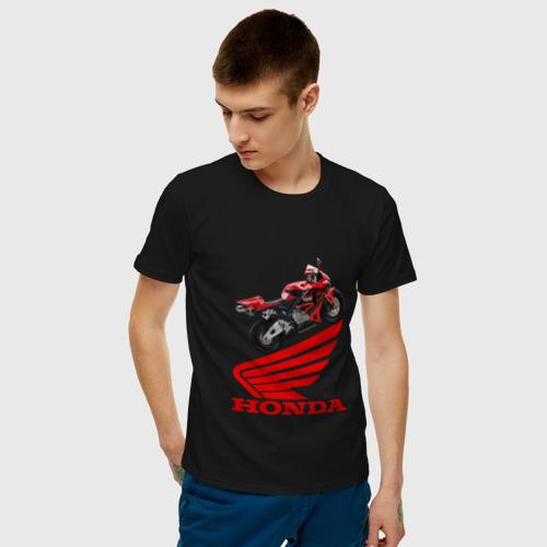 Мужская футболка хлопок CBR600RR Фото 01