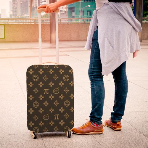 Чехол для чемодана 3D Geek Фото 01