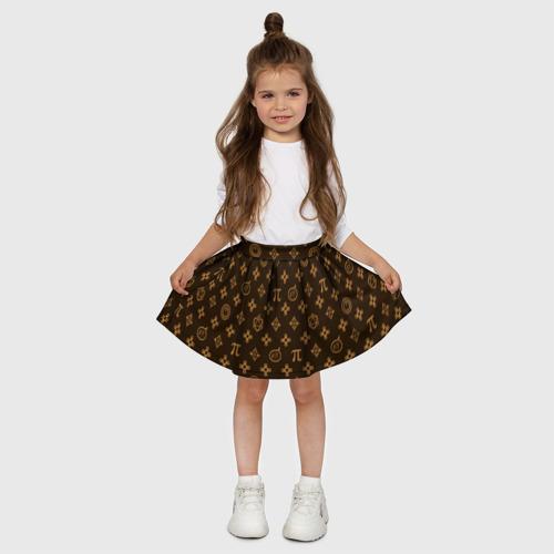 Детская юбка-солнце 3D Geek Фото 01