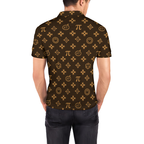 Мужская рубашка поло 3D  Фото 04, Geek
