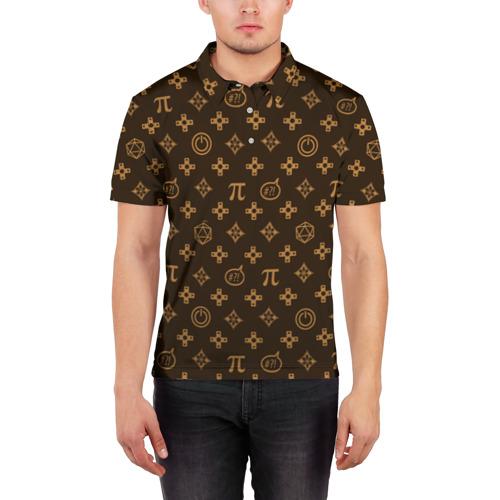 Мужская рубашка поло 3D  Фото 03, Geek