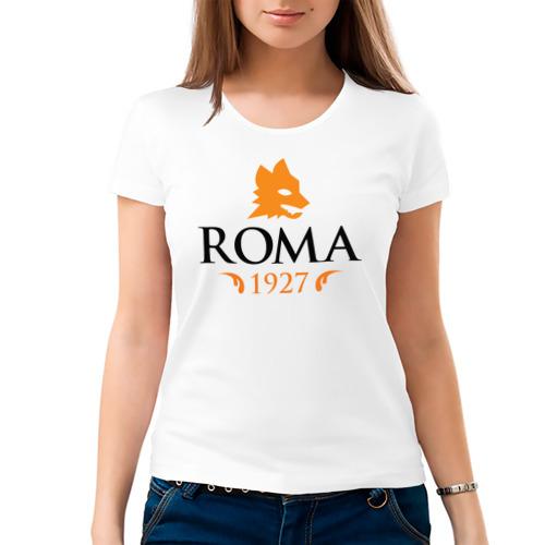 Женская футболка хлопок  Фото 03, AS Roma