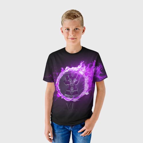 Детская футболка 3D  Фото 01, Вай