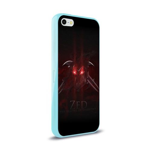 Чехол для Apple iPhone 5/5S силиконовый глянцевый  Фото 02, Зед