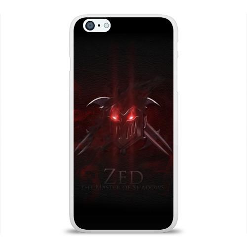 Чехол для Apple iPhone 6Plus/6SPlus силиконовый глянцевый  Фото 01, Зед