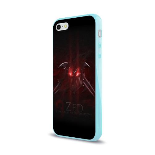 Чехол для Apple iPhone 5/5S силиконовый глянцевый  Фото 03, Зед