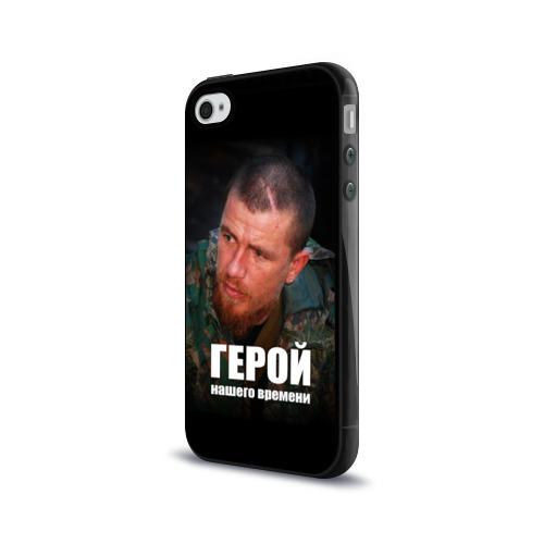 Чехол для Apple iPhone 4/4S силиконовый глянцевый  Фото 03, Моторола - Герой нашего времени