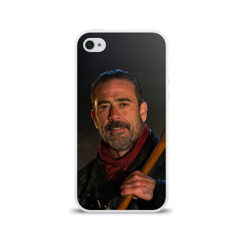 Чехол для Apple iPhone 4/4S силиконовый глянцевый Boss Фото 01