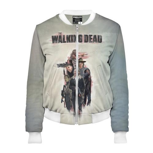 Женский бомбер 3D  Фото 01, Walking Dead