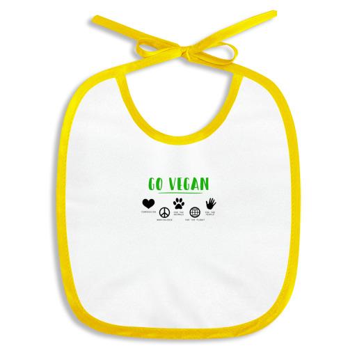 Слюнявчик  Фото 01, Go Vegan