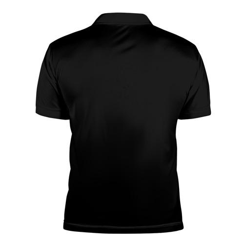 Мужская рубашка поло 3D  Фото 02, Седой волк