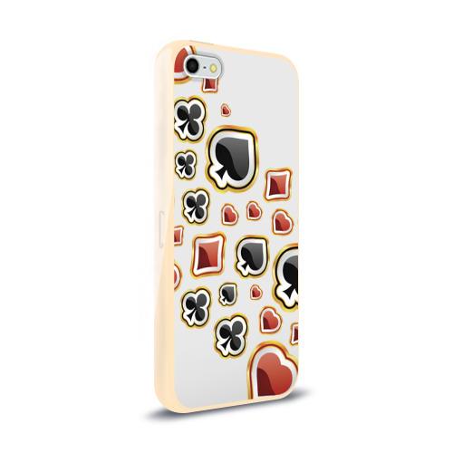 Чехол для Apple iPhone 5/5S силиконовый глянцевый  Фото 02, World Poker