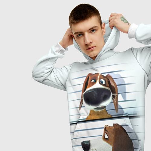 Мужская толстовка 3D  Фото 01, Разыскивается пёс