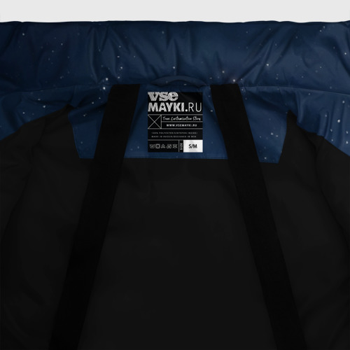Женская зимняя куртка Oversize Неземная любовь (ж) Фото 01