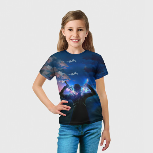 Детская футболка 3D Мастера меча онлайн Фото 01