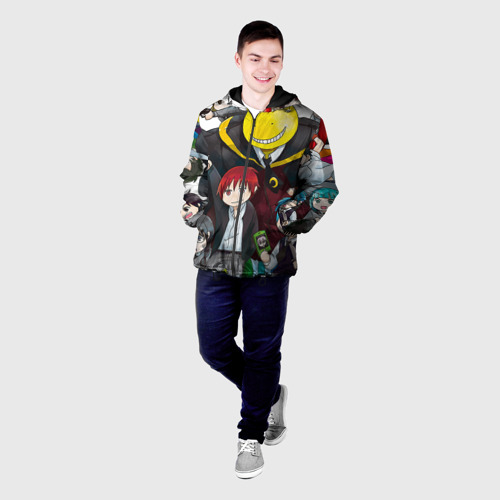 Мужская куртка 3D Школа убийц Фото 01