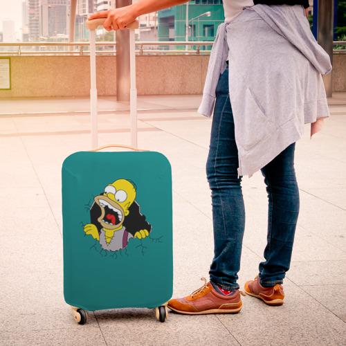 Чехол для чемодана 3D  Фото 04, Alien-Homer