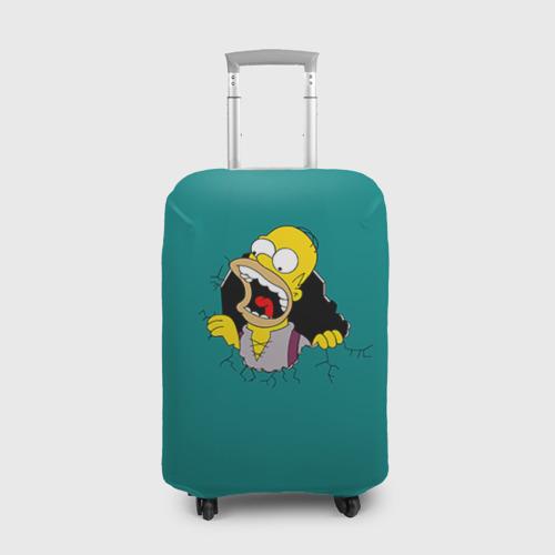 Чехол для чемодана 3D  Фото 01, Alien-Homer