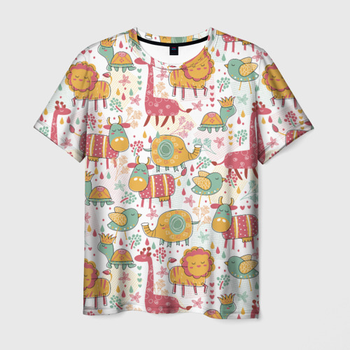 Мужская футболка 3D  Фото 03, Детские рисунки