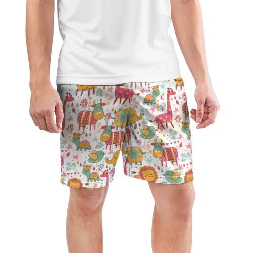 Мужские шорты 3D спортивные  Фото 03, Детские рисунки