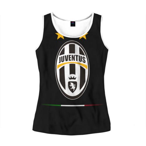 Женская майка 3D  Фото 01, Juventus1
