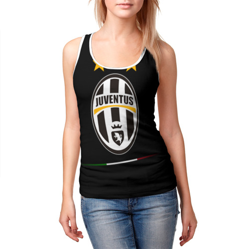 Женская майка 3D  Фото 03, Juventus1