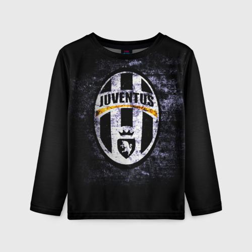 Детский лонгслив 3D Juventus2