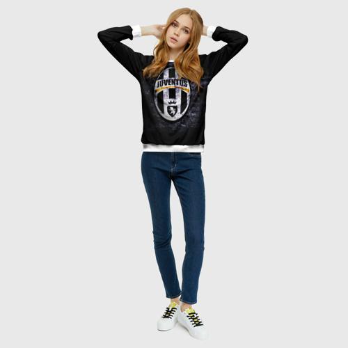 Женский свитшот 3D  Фото 01, Juventus2