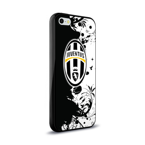 Чехол для Apple iPhone 5/5S силиконовый глянцевый  Фото 02, Juventus4