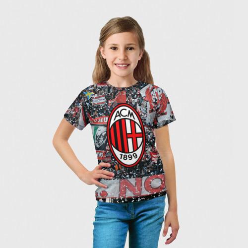 Детская футболка 3D  Фото 03, Milan1