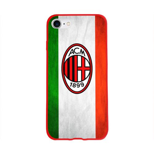 Чехол для Apple iPhone 8 силиконовый глянцевый Milan2