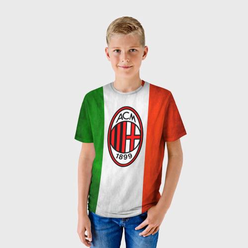 Детская футболка 3D  Фото 01, Milan2